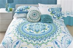 Beautiful bedding. Maybe in a spare bedroom