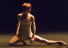 Sylvie Guillem. I mean, first and foremost her artistry is astounding...but holy crap that FOOT.