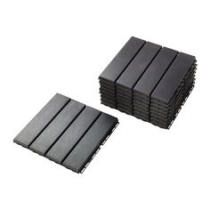 $25/9 pack IKEA - RUNNEN, Floor decking, outdoor, dark gray, , Floor decking makes it easy to refresh your terrace or balcony.</t><t>The floor decking is weather-resistant and easy to care for since it's made of plastic.</t><t>The floor decking can be cut if you need to fit it around a corner or a pole</t><t>You can easily take the floor decking apart and put it together again if you want to clean the floor underneath.