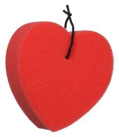 Tough-1 Heart Shaped Sponge   ChickSaddlery.com