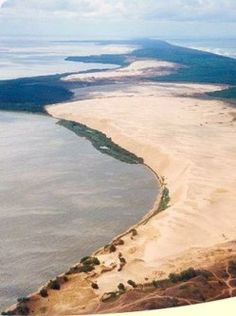 LITHUANIA! Stroll around The Curonian Spit - a 98 km long, thin, curved sand-dune spit in Lithuania! #Lithuania #Curonianspit