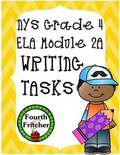 """Looking for more ways to incorporate writing into the modules? Then this pack is for you!This ELA Module 2A Writing Tasks Pack includes 9 tasks aligned with the Module 2A texts and the NYS Writing Standards.You will get:3 writing tasks aligned to the text, """"If You Lived in Colonial Times"""".3 writing tasks aligned to the text, """"The Scoop on Clothes, Homes, and Daily Life in Colonial America"""".3 writing tasks aligned to the text, """"Inventory of John Allen"""".Each text pack involves one writing task…"""
