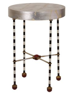 "TOP PICK BY Elaine Williamson Designs www.elainewilliamsondesigns.com ""I love everything New Orleans. This NOLA company is used in our designs often.  Just what a room needs for a little extra spunk""  Flambeau - Le Cirque table.  Showroom: New location, 200 N. Hamilton, N Ct S-201 #HPMKT #Fall #2013"