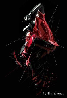 Title : RUIN the LEGIONKILLA x KRUMP Artist : J Maurice