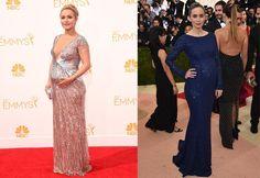 Vestidos de festa pra grávidas: cinco lições de estilo das celebridades