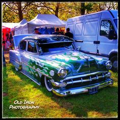 """oldironphotography: """"Have a nice week-end ! #chevy. #chevrolet. #kustom. #lowrider. #oldironphotography. #hotrod. #carporn. #carphotography. #cargram. #hdr_transports. #rustlord_carz. #rustlord. #trb_autozone. #renegade_rides. #auto_of_our_world...."""