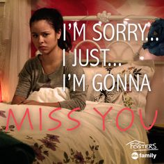 Poor Mariana...   The Fosters Quotes