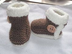 Items similar to Hand knitted baby booties on Etsy Hand knitted baby booties by Jennysbabyknits on Etsy Always wanted to be able to knit, however not sure how to start? Baby Patterns, Knitting Patterns, Crochet Patterns, Crochet Baby Clothes, Crochet Shoes, Crochet Quilt, Crochet Yarn, Knitting Socks, Baby Knitting