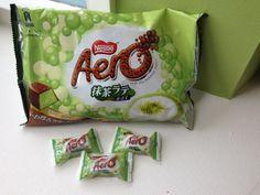 Matcha Aero Bars.