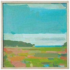 """""""East Over Bay"""" // Karen Smidth"""