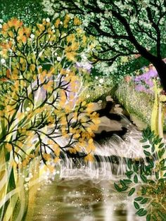 Beside the Pond - Kate Morgan - Artist  Illustrator