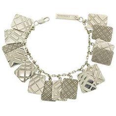 Burberry Engraved Charm Bracelet