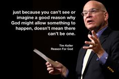 There is a reason.