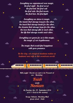 Metro Love Indian Wedding Invite - Print Ready Template #indian #invite #design #couple #Coimbatore #Wedding #Cards #Creative #Invitation #graphic #Design #Studio #Customized #marriage #Vivid #illustration #illustrator #Printready #Template #Friend # Bangalore #Delhi #mumbai #malasiya #metro #love