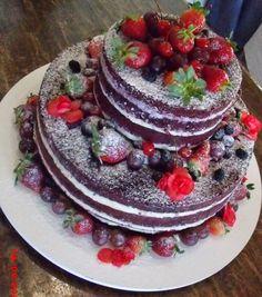 Naked Red Velvet Birthday Cake | ... Bolos De Casamento Em Ilhabela: Bolo