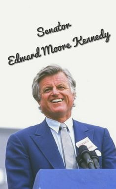 "Edward Moore ""Ted"" Kennedy (February 22, 1932 – August 25, 2009) was the senior United States Senator from Massachusetts and a member of the Democratic Party. He was the second most senior member of the Senate when he died and was the fourth-longest-serving senator in United States history, having served there for almost 47 years❤★❤    http://en.wikipedia.org/wiki/Ted_Kennedy"