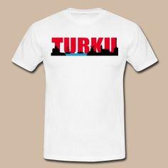 Turku silhouette - Miesten t-paita