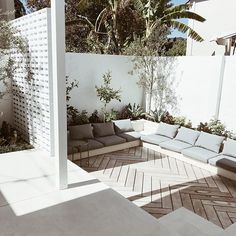 Corner of our backyard Looking forward to spend more time in this little corner ☺️#homesweethome#backyard#garden#landscapeThanks for the fab design @mon_palmer And @pandanusgardens thanks for bringing the design to life We absolutely love it