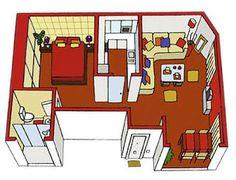 1000 images about planos on pinterest house plans for Disenos de casas chicas