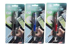 http://www.stuntwinkel.nl/balpen-stylus-touchscreen-2-in-1.html  Balpen Stylus Touchscreen 2 in 1  Zowel een echte pen en tevens een touchscreen pen aan de andere zijde. Het beste van 2 werelden! Nooit meer hoeven ruilen tussen 2 verschillende pennen als je analoog of digitaal wilt werken.  Verkrijgbaar in 3 kleuren.