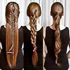 girl, brunette, hair, long hair, pretty, braids, braid, artsy, artsy braid, artsy hair, forever young, inspire, inspiring, perfect, dream, dreamer, hope, summer, summer 2012