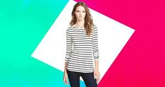 Landon, Help! I Feel Like I Can't Wear Horizontal Stripes #refinery29 http://www.refinery29.com/landon-help-horizontal-stripes