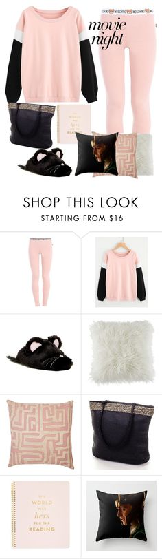 """""""movie night 1"""" by freshdee ❤ liked on Polyvore featuring Moschino, Chinese Laundry, BCBGeneration, St. Frank and Kate Spade"""