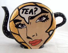 Tea Pot  this is great.  I have to start drinking tea