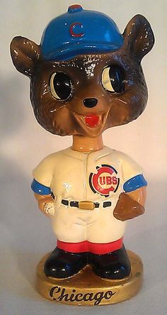 Chicago Cubs vintage baseball bobblehead