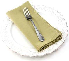 Dinner Napkin in Olive