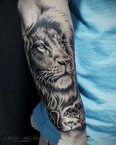 Tatto lion forearm tattoos, lion arm tattoo, lion tattoo sleeves, m Lion Arm Tattoo, Lion Forearm Tattoos, Lion Tattoo Sleeves, Mens Lion Tattoo, Forarm Tattoos, Lion Tattoo Design, Leo Tattoos, Badass Tattoos, Animal Tattoos