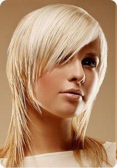 Frisur Vorne Kurz Hinten Lang Google Suche Medium Hair Styles Medium Thin Hair Hair Styles