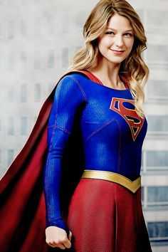 Melissa Benoist as Kara Zor El/Supergirl (DC Comics).