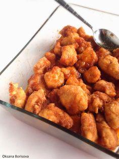 Кулинарные моменты: Курица в кисло-сладком соусе