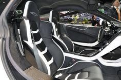 Interior of a Fab Design McLaren MP4-12C