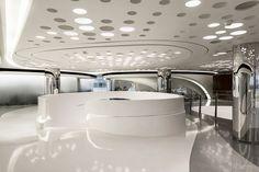Futuristic Interior, Sky SOHO by Zaha Hadid Architects, Shanghai, China