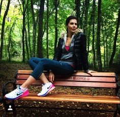 Hatice Sendil, Outdoor Furniture, Outdoor Decor, Bench, Park, Celebrities, Casual, Outfits, Fashion