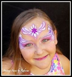 Face Painting, Fantasy Faces by Rebecca - Face Painting Gallery - Seal Beach, CA