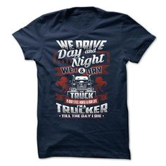Awesome Tee Truck Driver T-Shirts