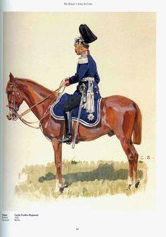 German; Guard Fusilier Regiment, Major. c.1905. Raised 1826. Home Depot Berlin. Guard Corps