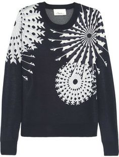 3.1 Phillip Lim Snowflake-intarsia knitted sweater