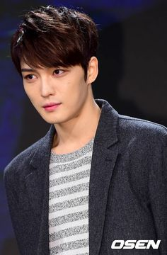 "Kim Jaejoong at 2015 KBS's Reorganization Program Presentation Press Conference for ""Spy"" (141217)"