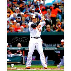 "Chris Davis Baltimore Orioles Fanatics Authentic Autographed 16"" x 20"" Hitting Ball Photograph - $87.99"