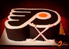 #Philadelphia #Flyers cake