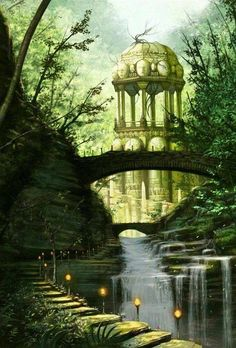 Queen Nymeria\'s palace in Ny Sar, before the Valyrians destroyed it - by Jorge Jacinto