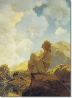 Maxfield Parrish 1870-1966 pinned by heywardhouse.org