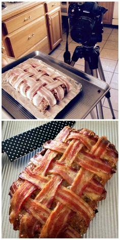 ideas meat loaf recipes bacon wrapped brown sugar for 2019 Bacon Meatloaf, Bacon Wrapped Meatloaf, Good Meatloaf Recipe, Best Meatloaf, Meatloaf Recipes, Bacon Recipes, Cooking Recipes, Meatloaf Ingredients, Good Food