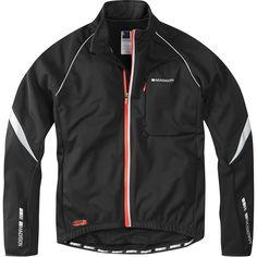 Sportive men's softshell jacket, black medium