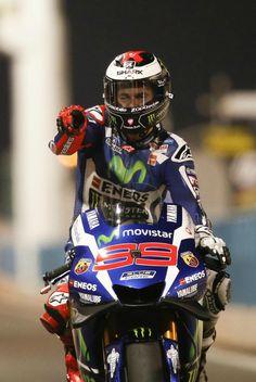 Jorge Lorenzo # 99 1st victory 2016 in the 1st Motogp race