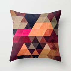 'Pyt' throw pillow by Spires.